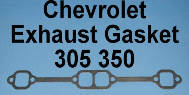 Chevy exhaust manifold gasket