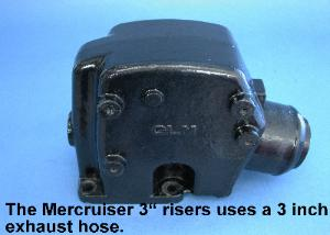 side view of 3-inch riser
