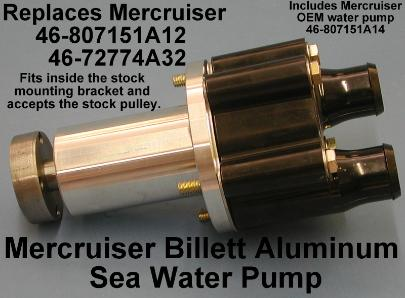 Billet pump no pulley