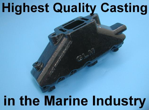 Mercruiser V6 manifold highest quality