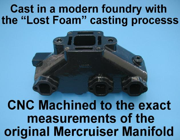 Lost foam casting process