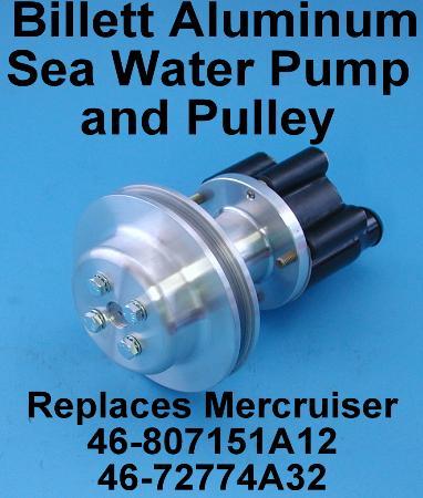 Billet pump with Pulley