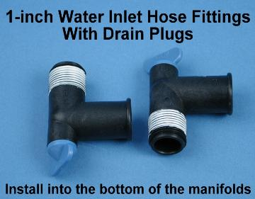 Water inlet barb fitting