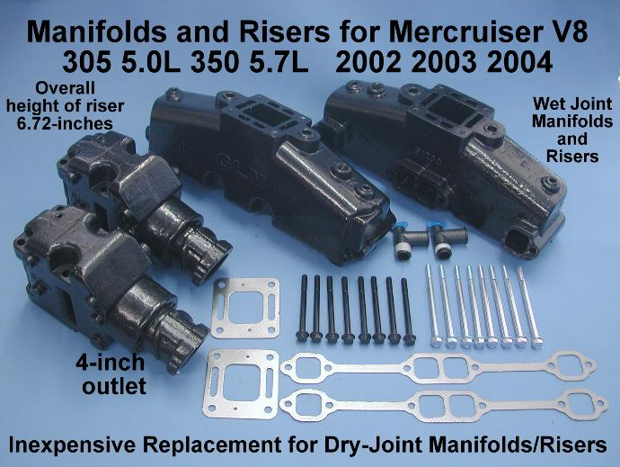 2002-2004 V8 dry joint conversion kit